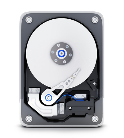 sata: Parth computer HDD (done in 3d rendering)