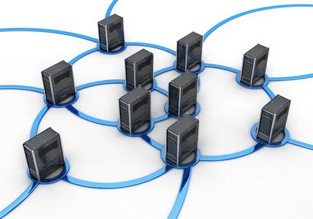 wite: Network server, concept internet