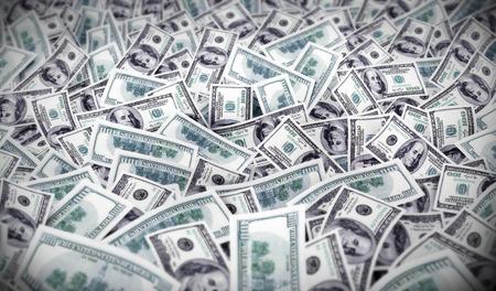 many much money dollars. 3d illustration  Stock Photo