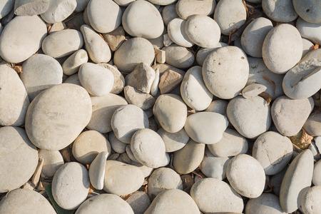 pebbles: Gray pebbles background