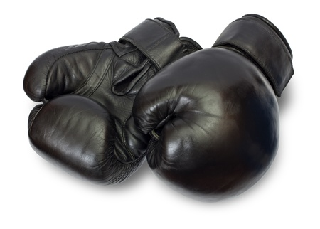 Boxing-gloves on a white background photo