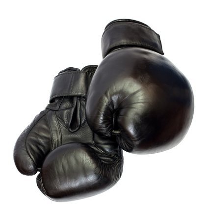 Boxing-gloves isolated on a white background photo