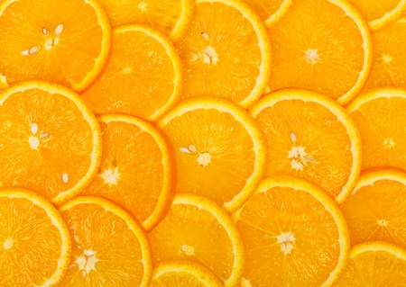 Sliced orange background. Use as a background or texture photo