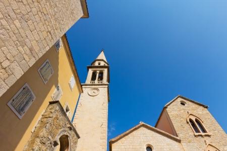 Church Saint John (Ivan), VII century. Budva, Montenegro, Europe photo