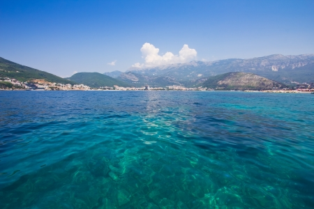 Panorama of Budva View from the sea. Montenegro, Europe Stock Photo - 14669255