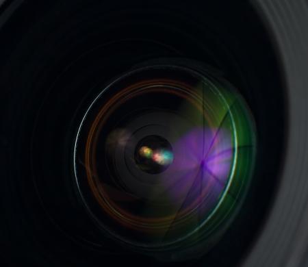 camera lens: Photo Camera lens close-up Stock Photo