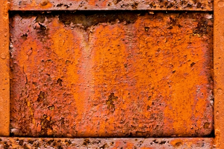 metal corrosion: Background of rusty metal
