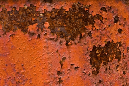 Background and texture of rusty metal photo