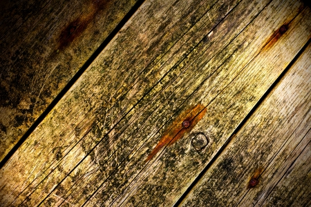 Old Wood Background illuminated from two sides Stock Photo - 16100546