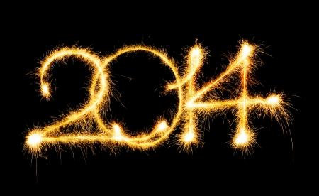 新年あけましておめでとうございます - 2014年を作った、線香花火