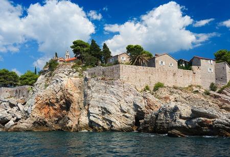 balkans: Island of Sveti Stefan, Montenegro, Balkans, Adriatic sea, Europe