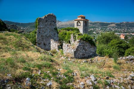 balkans: The ruins of Old Town Bar, Montenegro, Balkans