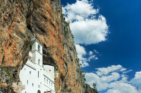 ortodox: Montenegro, Balkans, view on Ostrog ortodox Monastery