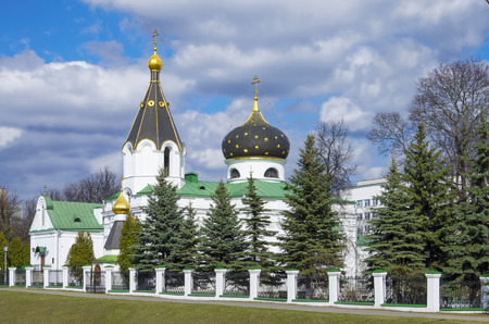 pacification: Minsk: orthodox church of Saint Mary Magdalene equal to the apostles