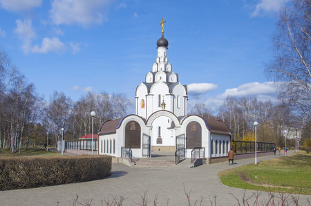 pacification: Minsk: orthodox church of an icon of the Mother of God Collecting the dead - church in memory of the victims of Chernobyl accident.