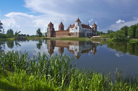 Europe, Belarus, history: Mir Castle Complex Radzivillov.