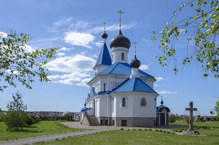 dandelion snow: Belarus, Minsk: rthodox church of Saint Nicholas The Wonderworker.