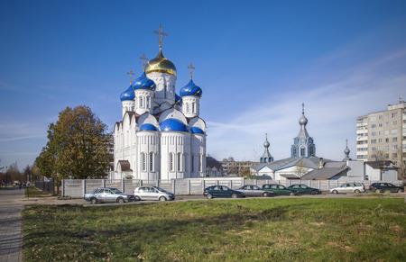 assumption: Belarusian, Molodechno: orthodox Church of the Assumption Uspenskaya.