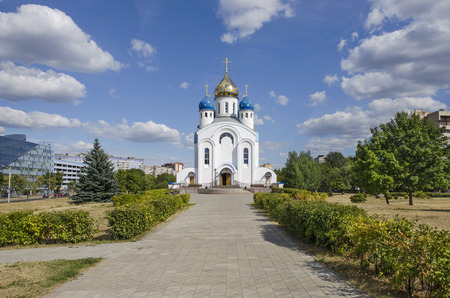 belarus: Belarus, Minsk: orthodox Voskresenskaia Church