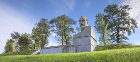 homeland: Belarus, Stolbtsy: a monument in the homeland of Felix Dzerzhinsky.