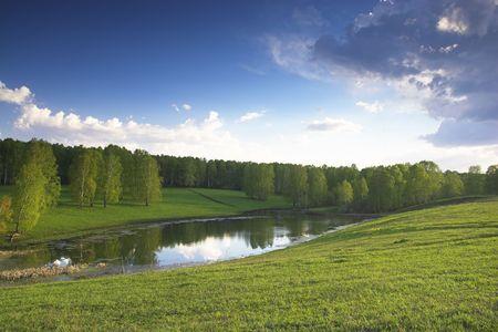 xp: XP style spring landscape