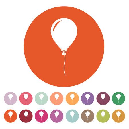 holiday symbol: Il fumetto icona. Simbolo di vacanza. Appartamento illustrazione vettoriale. Button Set