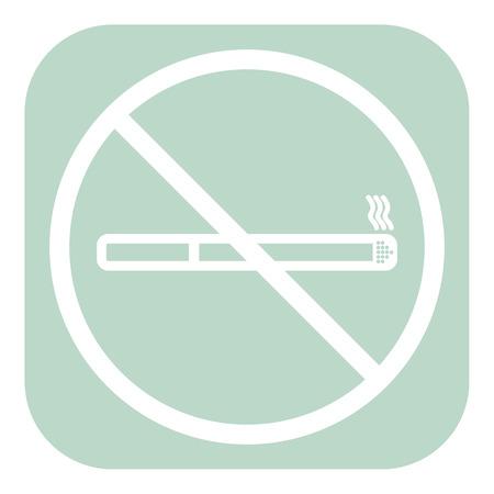 stop smoking: No smoke icon. Stop smoking symbol.