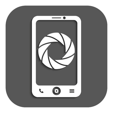 foto: The selfie icon. Foto symbol. Flat Vector illustration. Button Illustration