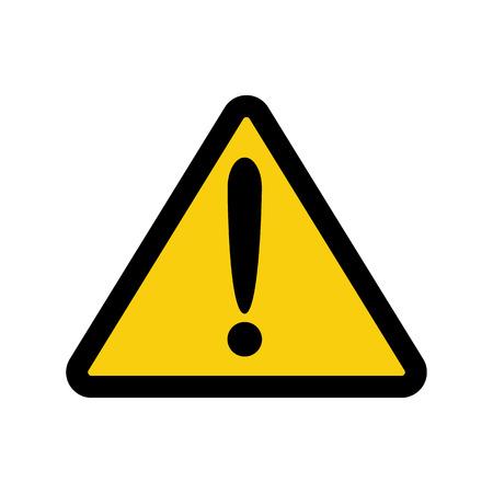 alerta: El icono de la atención