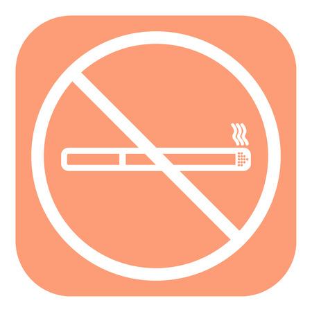 abstain: No smoking icon