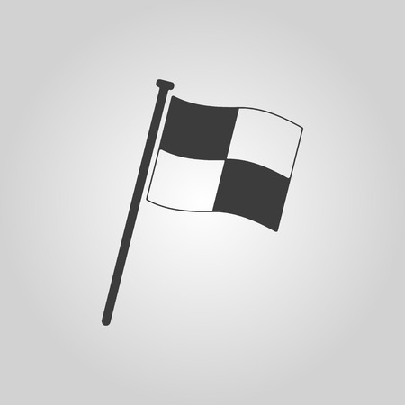 The Race flag icon