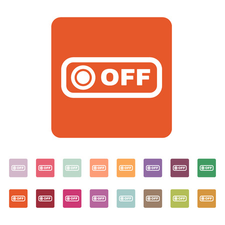 on off button: The off button icon