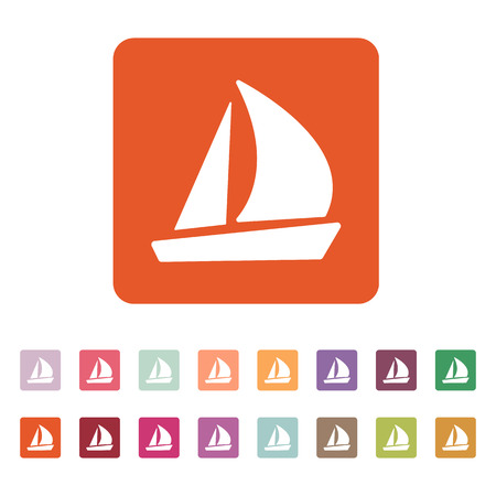 inflate boat: The sailboat icon