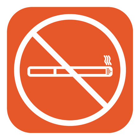 abstain: No smoking icon