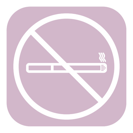stop smoking: No smoke icon. Stop smoking symbol. Vector. Icon for public places. Illustration