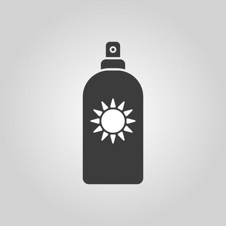 sun cream: The sun cream icon.