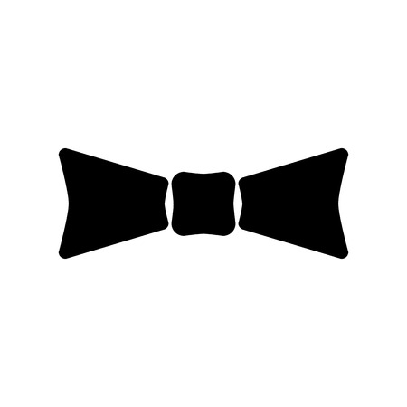 ties: The bow tie icon. Bow tie symbol. Flat Vector illustration Illustration