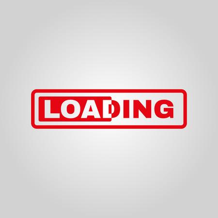 preloader: The loading icon. preloader symbol. Flat Vector illustration
