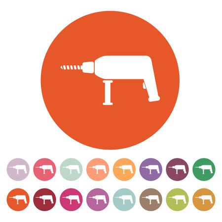 The drill icon Vector