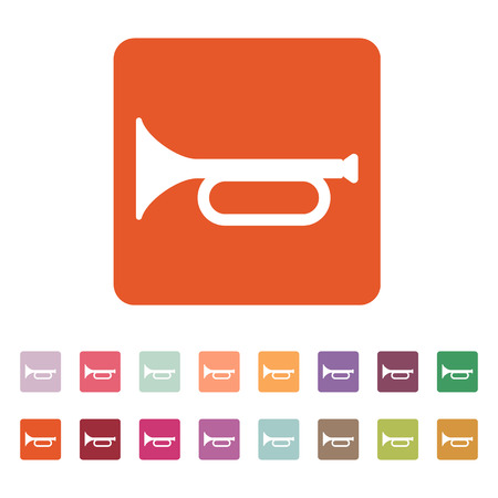 fanfare: The horn icon