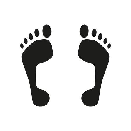 alibi: The footprint icon
