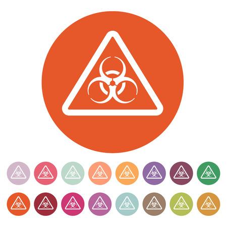 the bacteria signal: The biohazard icon