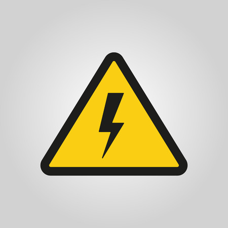 danger signs: The lightning icon