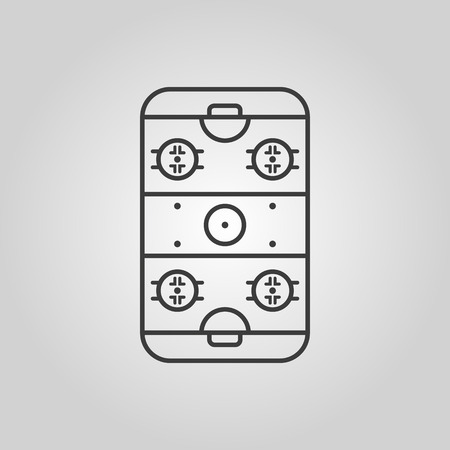 rink: Ice Hockey Rink icon