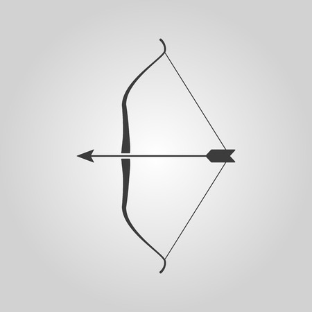 The bow icon  イラスト・ベクター素材