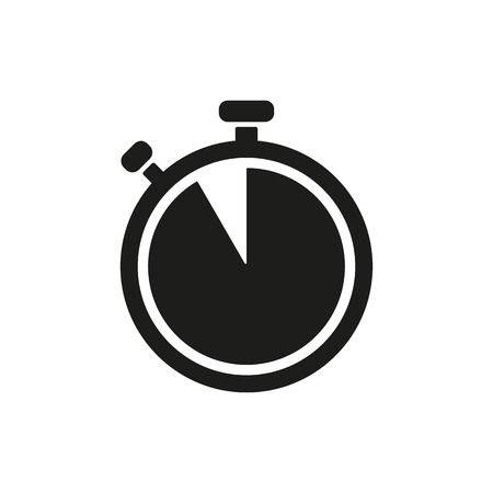 countdown clock: The stopwatch icon