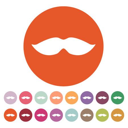 The moustache icon Illustration