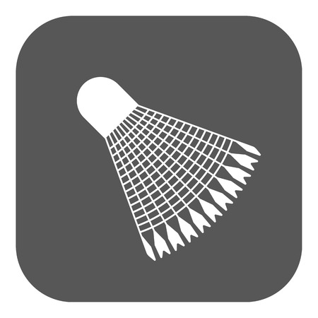 shuttlecock: The badminton shuttlecock icon Illustration