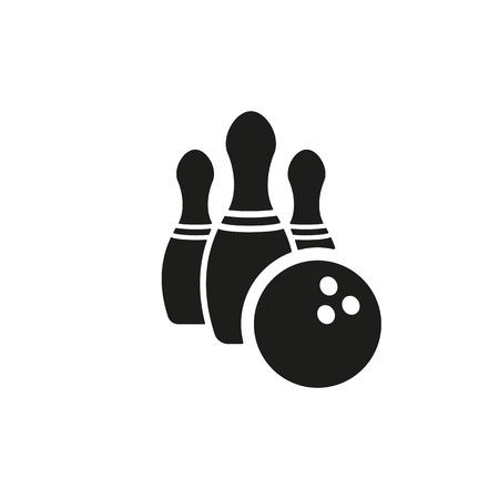 bowling strike: The bowling icon