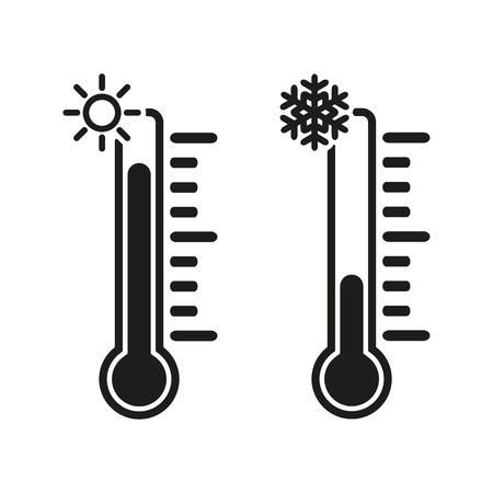 The thermometer icon 版權商用圖片 - 41218248